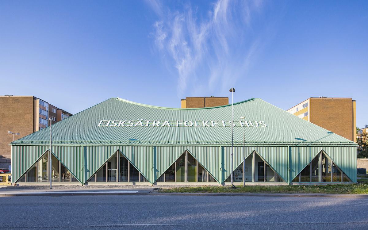 Fisksätra Folkets Hus av Sandellsandberg arkitekter