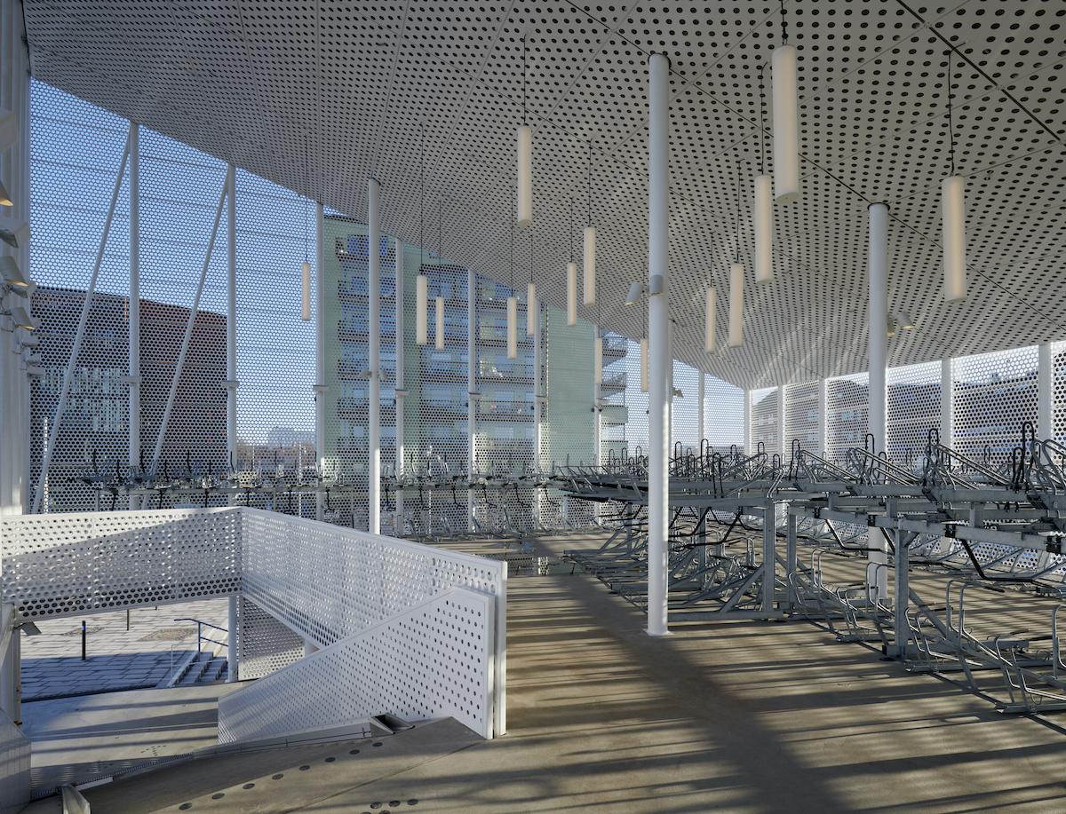 Cykelparkeringshus Gamlestads Torg av Sweco Architects